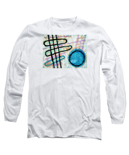Water Frequency Long Sleeve T-Shirt by Maria Huntley