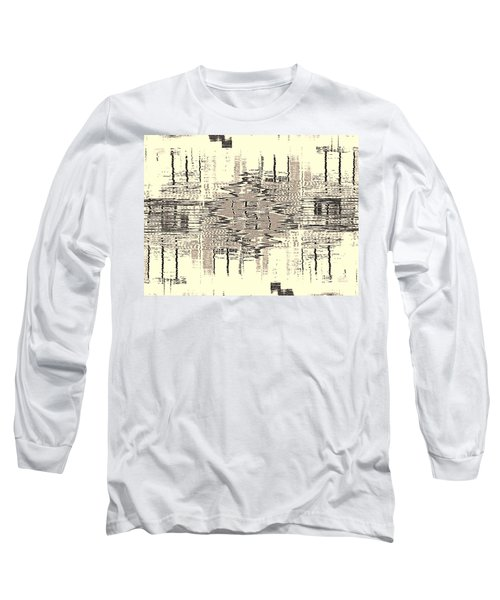 Water  Graph Long Sleeve T-Shirt