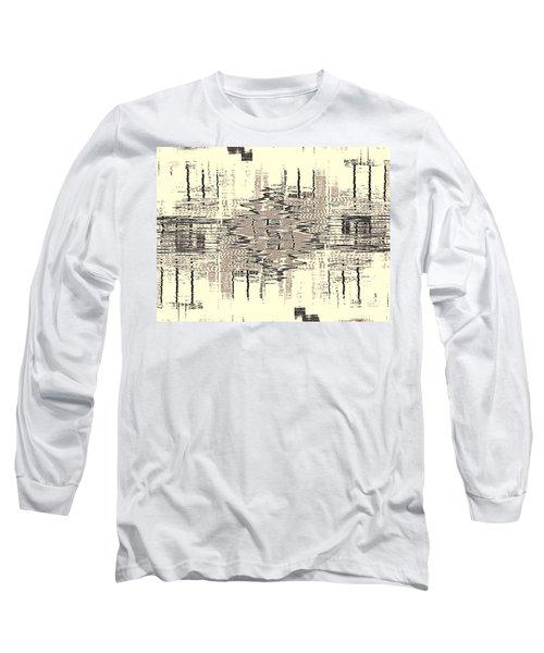 Long Sleeve T-Shirt featuring the photograph Water  Graph by Luc Van de Steeg