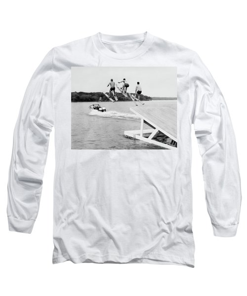 Water Ski Show Jumpers Long Sleeve T-Shirt