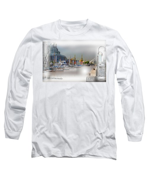 Water Way Buenos Aires Long Sleeve T-Shirt