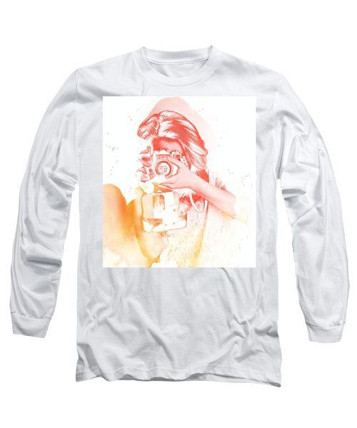 Watercolor Shoot Long Sleeve T-Shirt