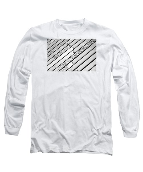 Watermarked 3 Long Sleeve T-Shirt by Wendy Wilton