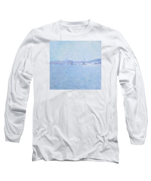 Waterway Of Beautiful France Long Sleeve T-Shirt