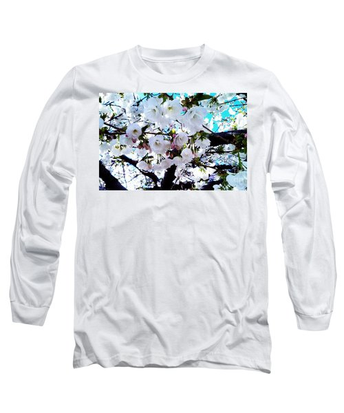 Long Sleeve T-Shirt featuring the photograph Blanche by Vanessa Palomino