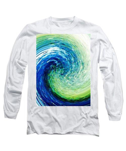 Wave To Van Gogh Long Sleeve T-Shirt