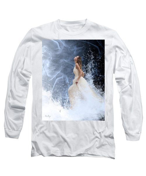 Waves Of His Glory Long Sleeve T-Shirt