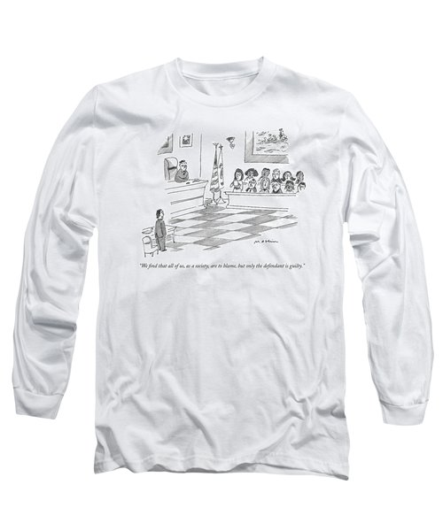 We Find That All Long Sleeve T-Shirt