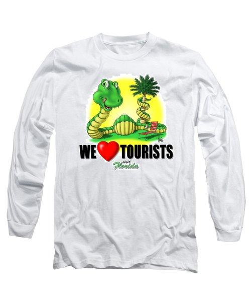 We Love Tourists Snake Long Sleeve T-Shirt