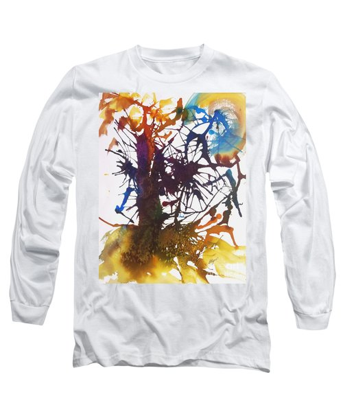 Web Of Life Long Sleeve T-Shirt by Ellen Levinson