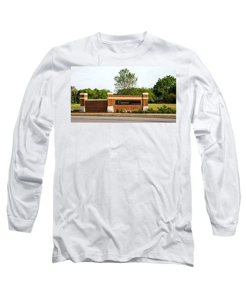 Welcome To Cayce Long Sleeve T-Shirt by Charles Hite