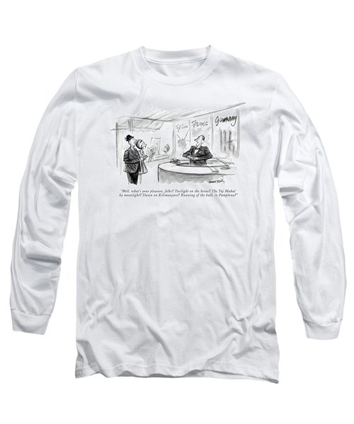 Well, What's Your Pleasure, Folks? Twilight Long Sleeve T-Shirt