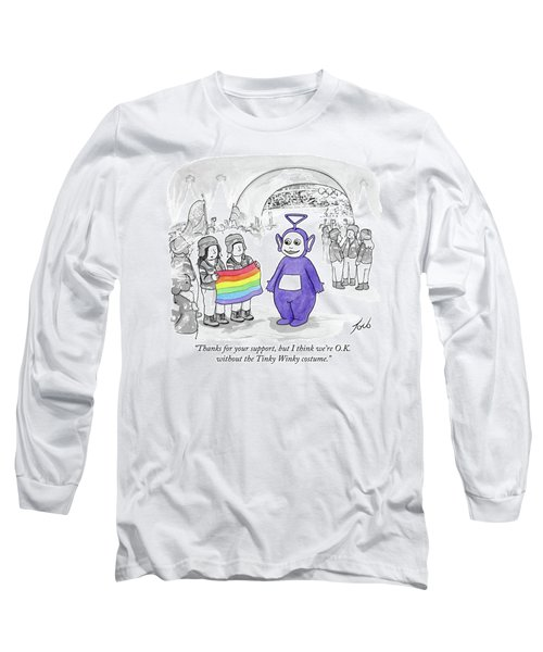 We're Ok Without The Tinky Winky Costume Long Sleeve T-Shirt