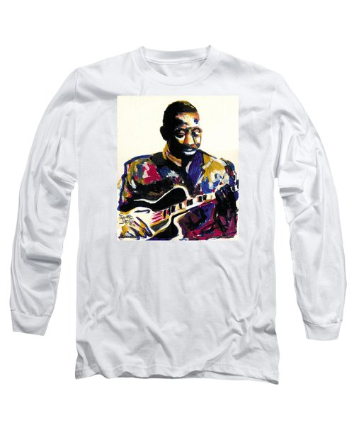 Wes Montgomery Long Sleeve T-Shirt by Everett Spruill