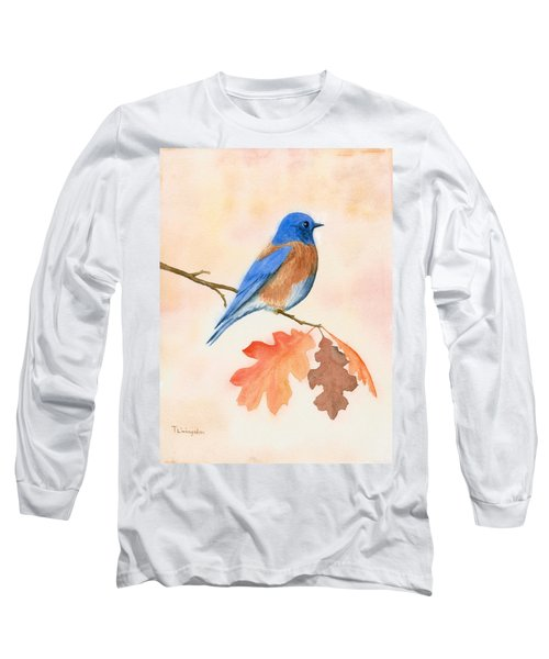 Western Bluebird Long Sleeve T-Shirt
