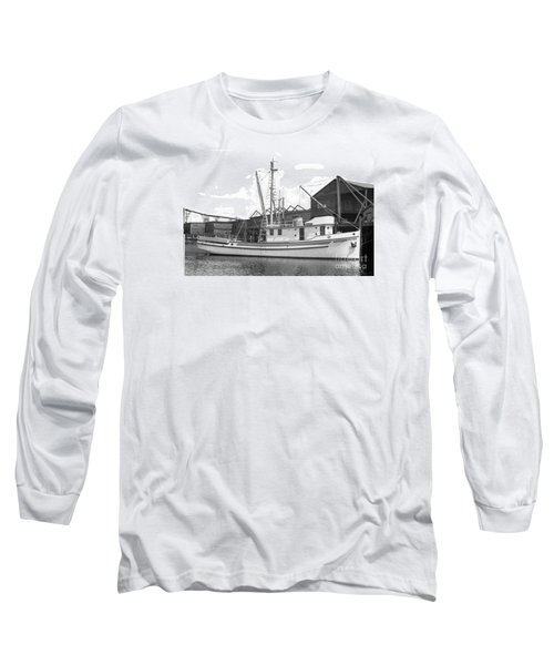 Western Flyer Purse Seiner Tacoma Washington State March 1937 Long Sleeve T-Shirt by California Views Mr Pat Hathaway Archives