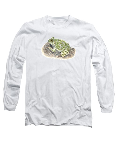Western Spadefoot Long Sleeve T-Shirt by Cindy Hitchcock