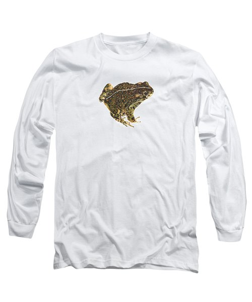 Western Toad Long Sleeve T-Shirt by Cindy Hitchcock