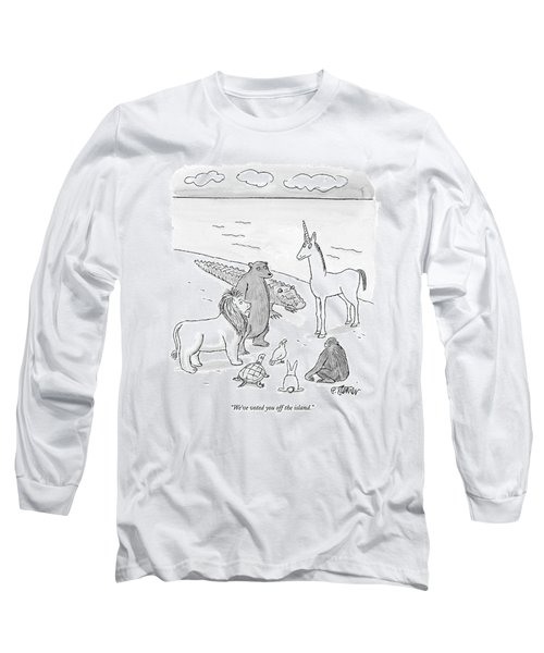 We've Voted You Off The Island Long Sleeve T-Shirt