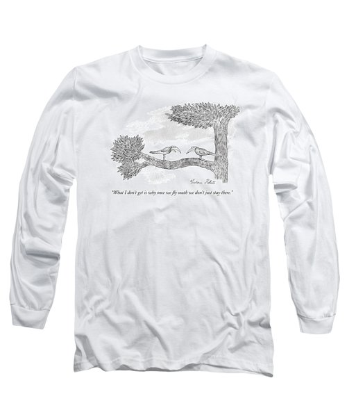 Once We Fly South Long Sleeve T-Shirt