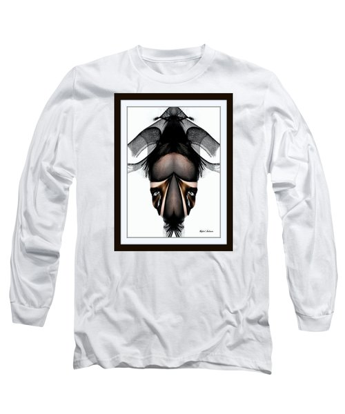 Long Sleeve T-Shirt featuring the painting What You See Is What You Get? by Rafael Salazar