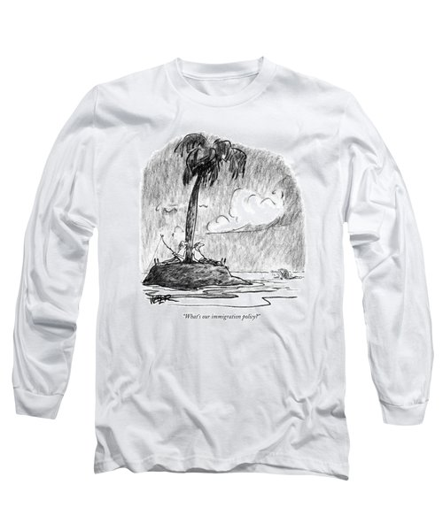 Immigration Long Sleeve T-Shirts for Sale