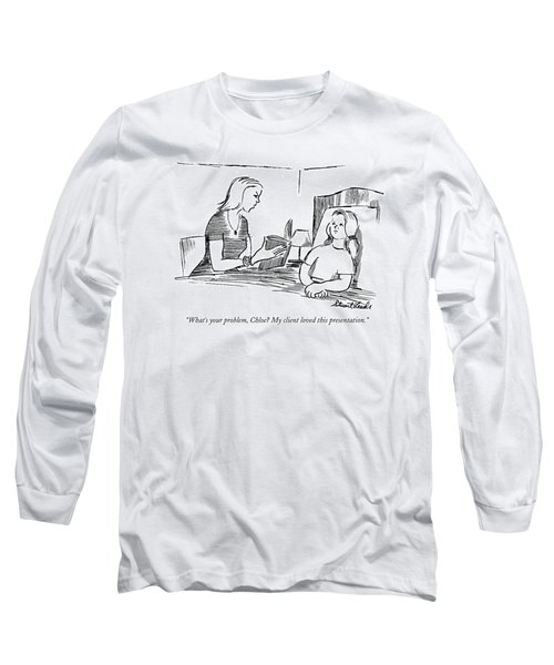 What's Your Problem Long Sleeve T-Shirt