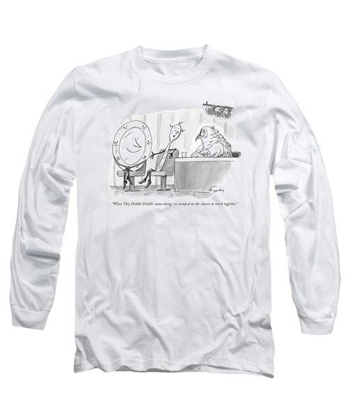 When 'hey Diddle Diddle' Came Long Sleeve T-Shirt