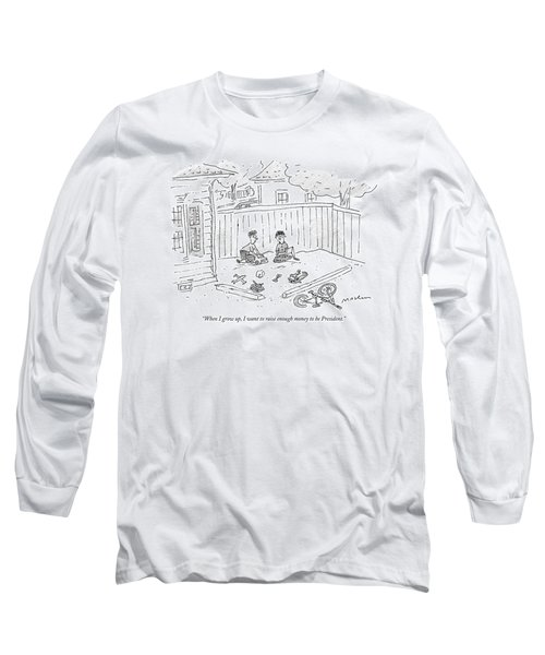 When I Grow Long Sleeve T-Shirt