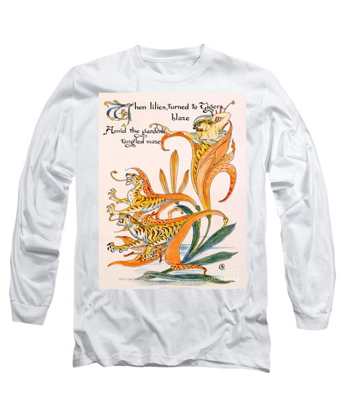 When Lilies Turned To Tiger Blaze Long Sleeve T-Shirt