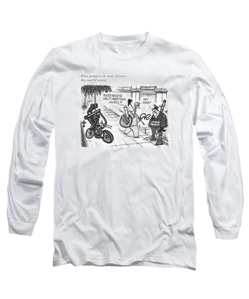 When Parked On The Street Long Sleeve T-Shirt