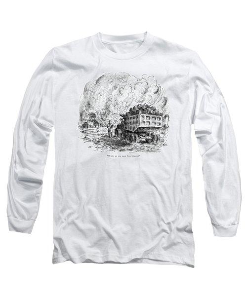 Where Do You Want Penn Station? Long Sleeve T-Shirt