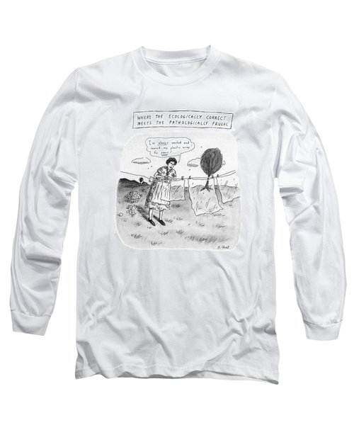 Where The Ecologically Correct Meets Long Sleeve T-Shirt