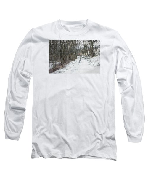 Where The Road May Take You Long Sleeve T-Shirt by Photographic Arts And Design Studio
