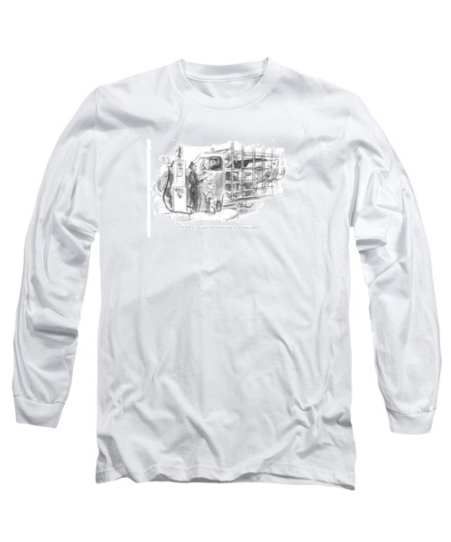 Which Do You Want - The Shortest Route Or Long Sleeve T-Shirt