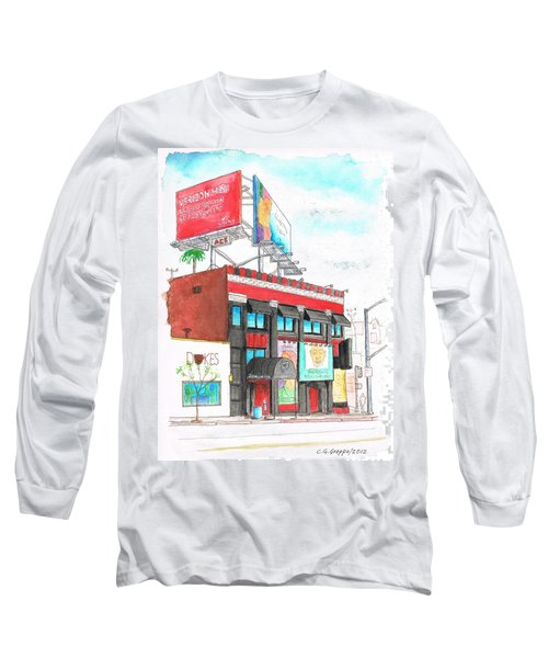 Whisky-a-go-go In West Hollywood - California Long Sleeve T-Shirt by Carlos G Groppa