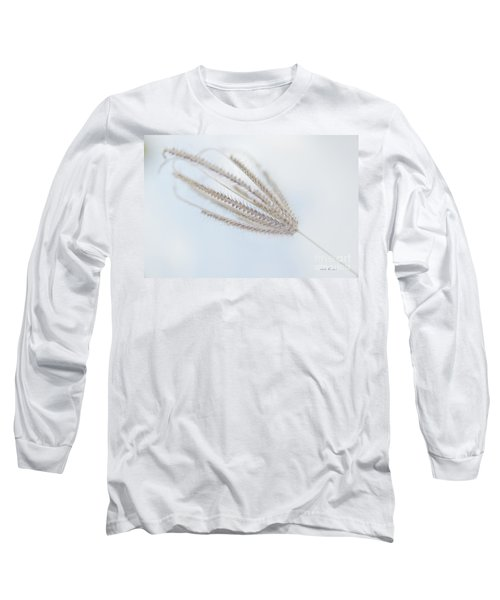 Long Sleeve T-Shirt featuring the photograph Whispering Weed by Vicki Ferrari