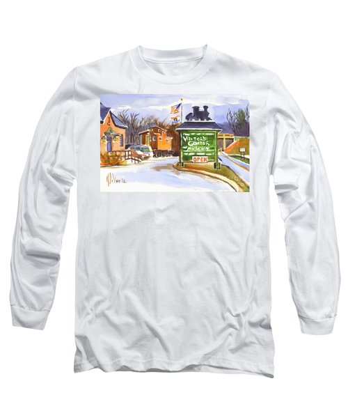 Whistle Junction In Ironton Missouri Long Sleeve T-Shirt