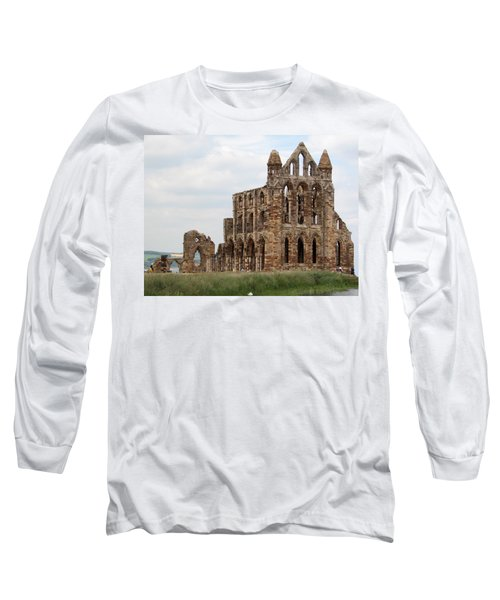 Whitby Abbey Long Sleeve T-Shirt