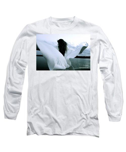 White Angel Long Sleeve T-Shirt