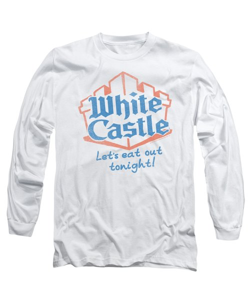 White Castle - Lets Eat Long Sleeve T-Shirt by Brand A