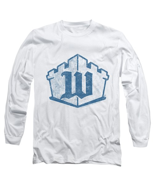 White Castle - Monogram Long Sleeve T-Shirt by Brand A