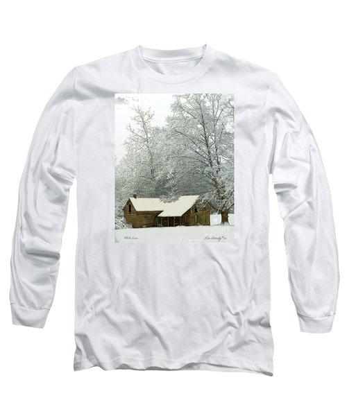 White Lace Long Sleeve T-Shirt