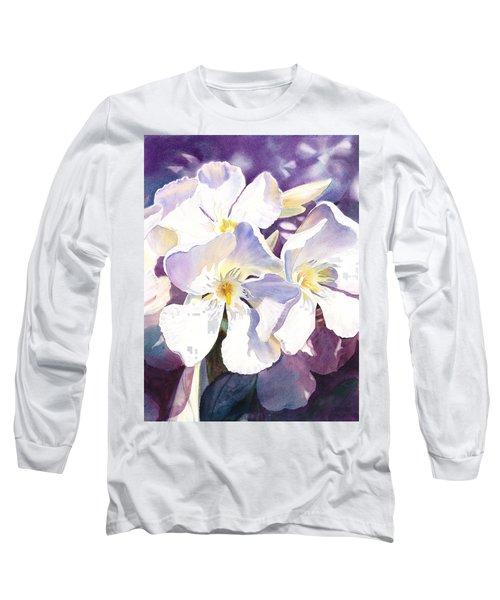 White Oleander Long Sleeve T-Shirt