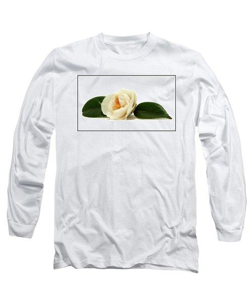 White On White Long Sleeve T-Shirt