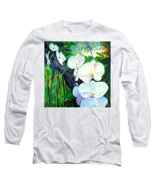 White Orchid's Long Sleeve T-Shirt