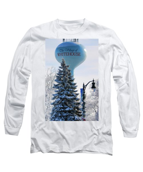 Whitehouse Water Tower  7361 Long Sleeve T-Shirt by Jack Schultz