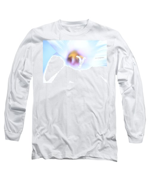 Long Sleeve T-Shirt featuring the photograph Whiteout by Greg Allore