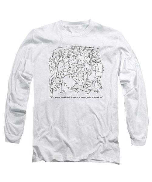 Why Anyone Should Look Forward To A Subway Series Long Sleeve T-Shirt