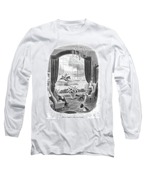 Why, It's Daphne - Home From Foxcroft Long Sleeve T-Shirt